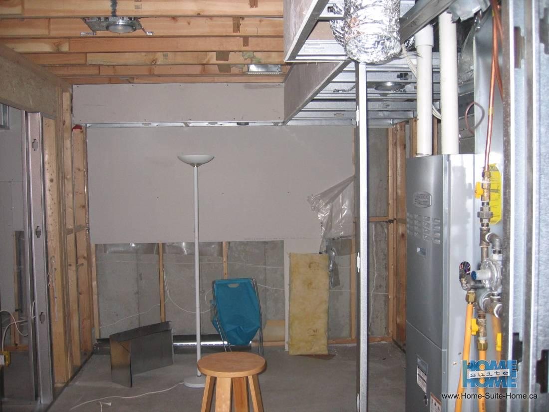 Basement Finishing And Completing Unfinished Basements Vancouver Phone Wiring Before